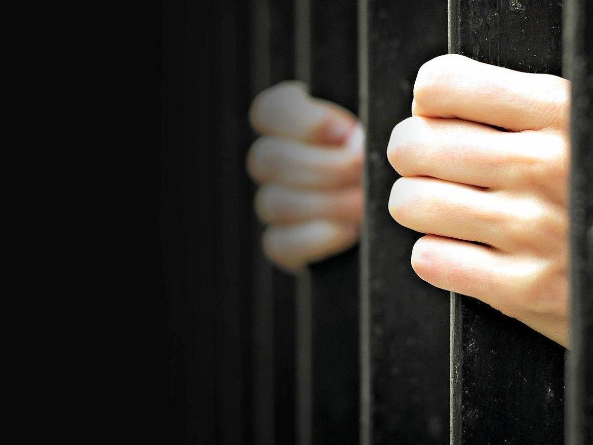 Behind bars generic jail prison