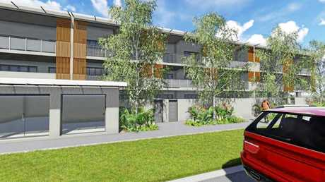 PLANS: Plans for 74 units have been lodged in Peregian Springs, angering some locals.