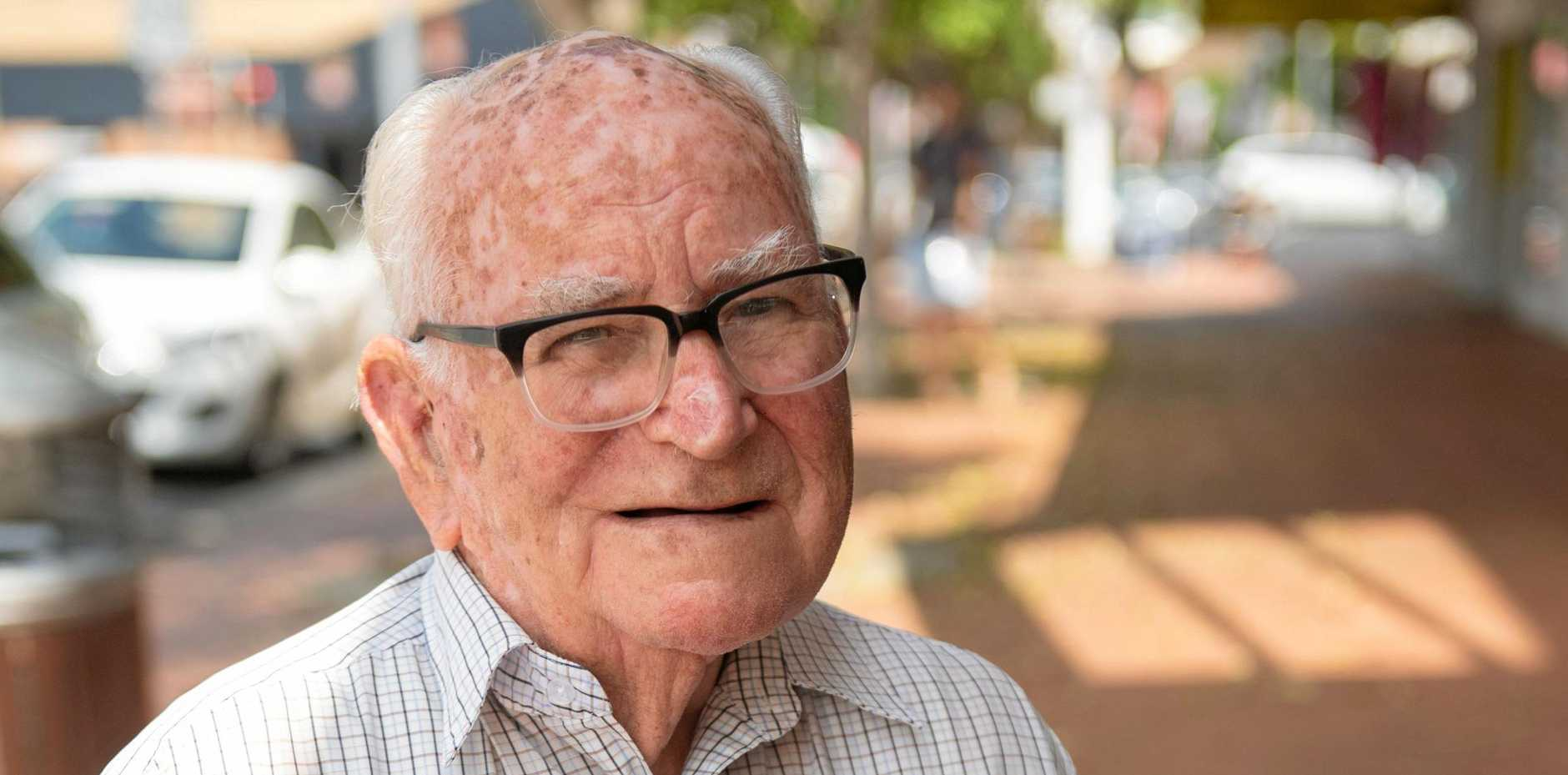 Emerald Beach resident Donald Clinch has received an OAM for his service to the Woolgoolga community.