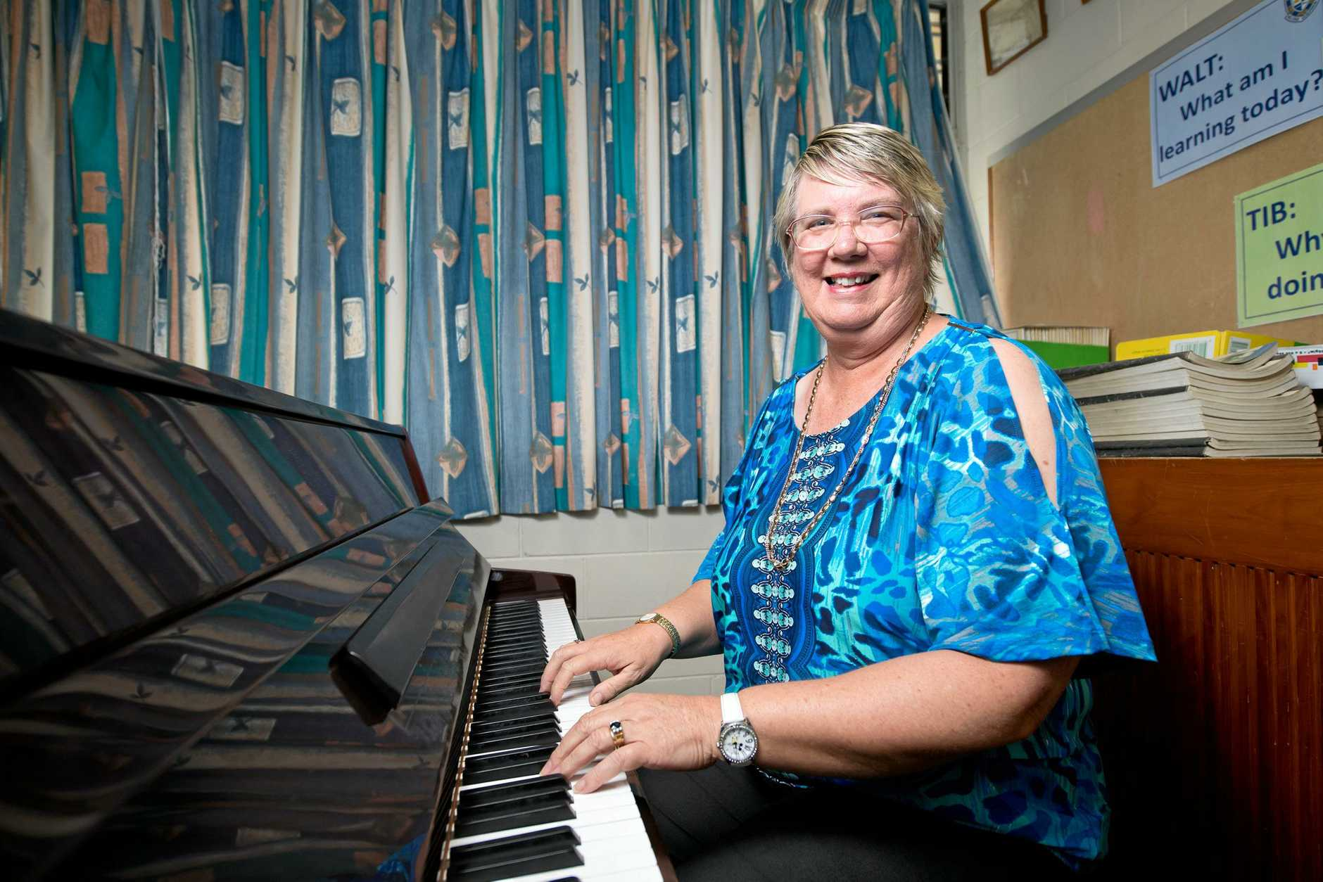 Kathryn George, who is the head of performing arts at Mackay North State High School can reveal today that she is receiving an Order of Australia Medal.