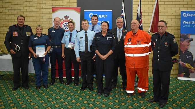 AWARDS: Some of the people who keep communities together in the worst of times were recognised in Gympie this week.