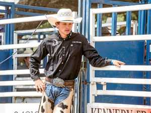 Nation's best teen bull rider shifts focus to world ladder