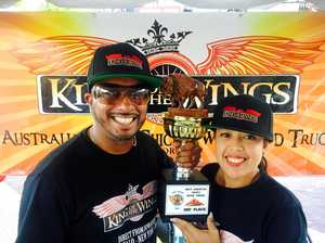 King of the Wings pops up in Bay for Australia Day