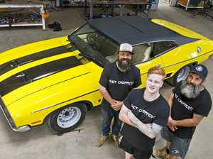 Toowoomba muscle car give-away key to athletes' sponsorship