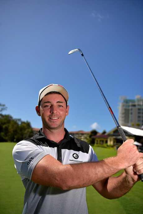 Charlie Dann is heading off on world golf tour.