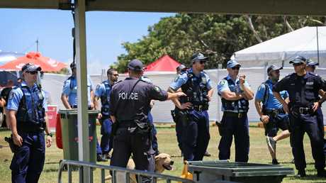Police will be out in force at festivals this weekend. Picture: Toby Zerna