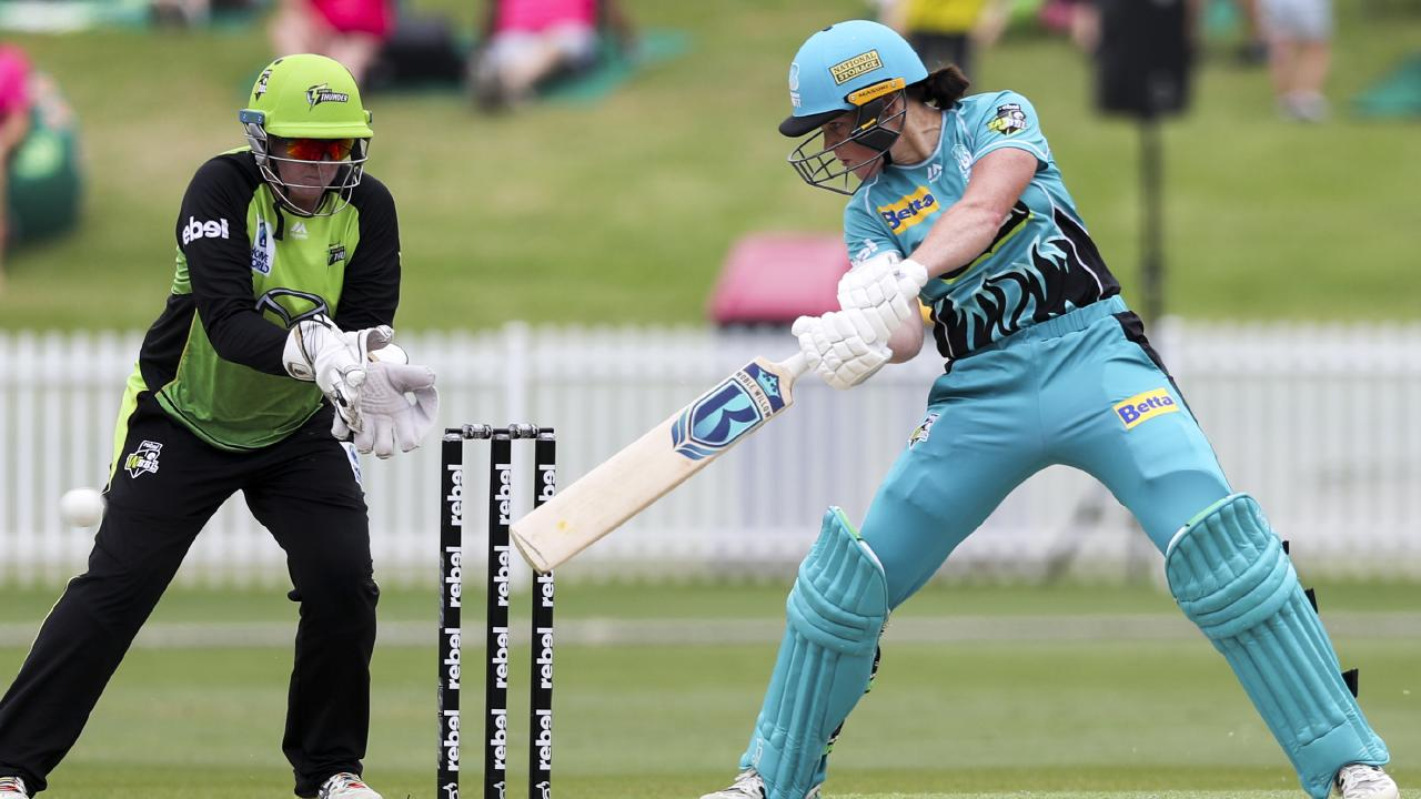 Grace Harris has been one of the stars of the WBBL this season.