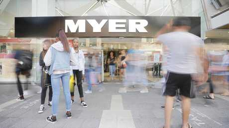 Myer has been dealt another blow. Picture: Mathew Farrell