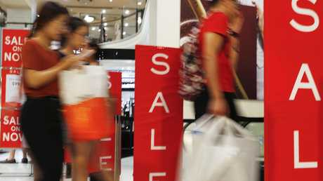 Myer has begun focusing on discount items, attracting value-seeking shoppers. Picture: Hanna Lassen/Getty Images