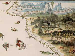 Map reveals Australia's true 'discovery'
