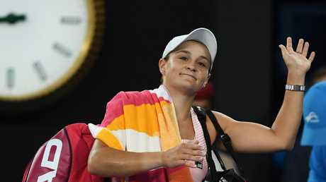 Ashleigh Barty became the first Australian woman to reach the quarterfinals since 2009