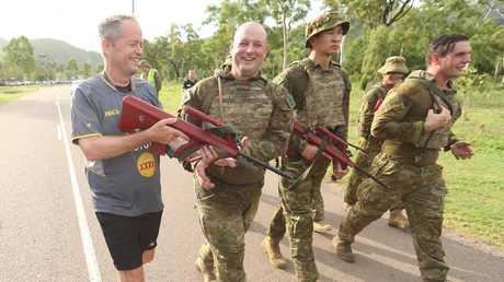 """Opposition leader Bill Shorten said Townsville needed to rely on other industries. Picture"""" Lyndon Mechielsen/The Australian"""