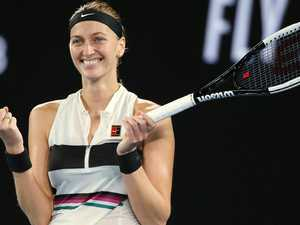 Kvitova downplays remarkable journey back to top