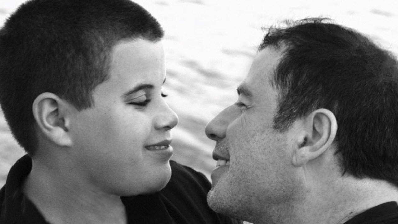 John Travolta with his son Jett.
