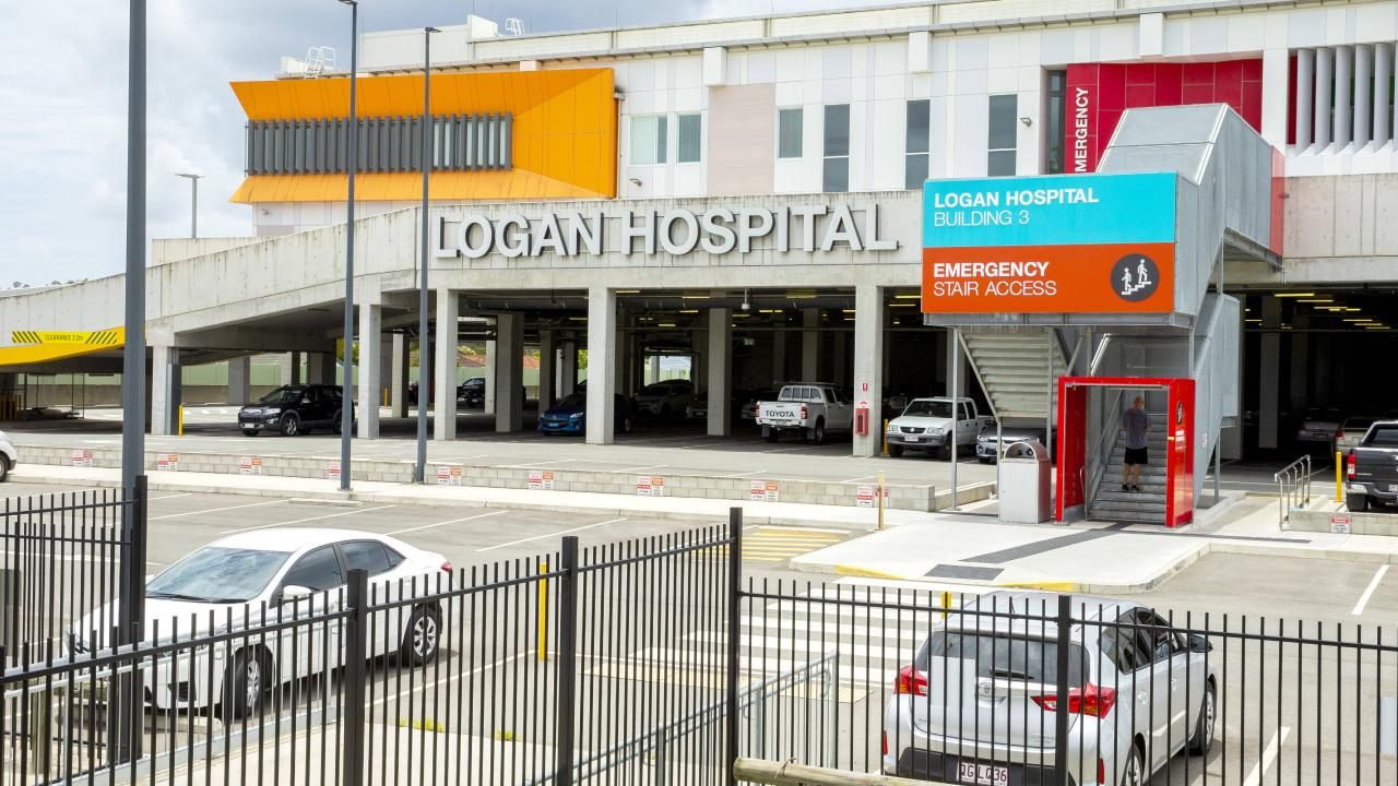 With the area growing rapidly, Logan Hospital recorded the second highest increase in birthrates in the state. Picture: Richard Walker