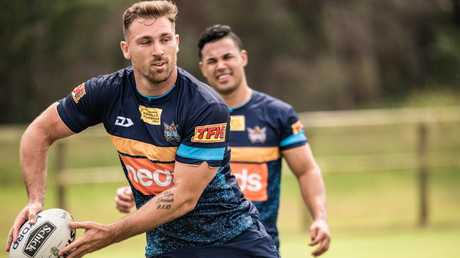Bryce Cartwright has a lot of pressure to return to his career best form this season after a let down 2018. Picture by: Gold Coast Titans
