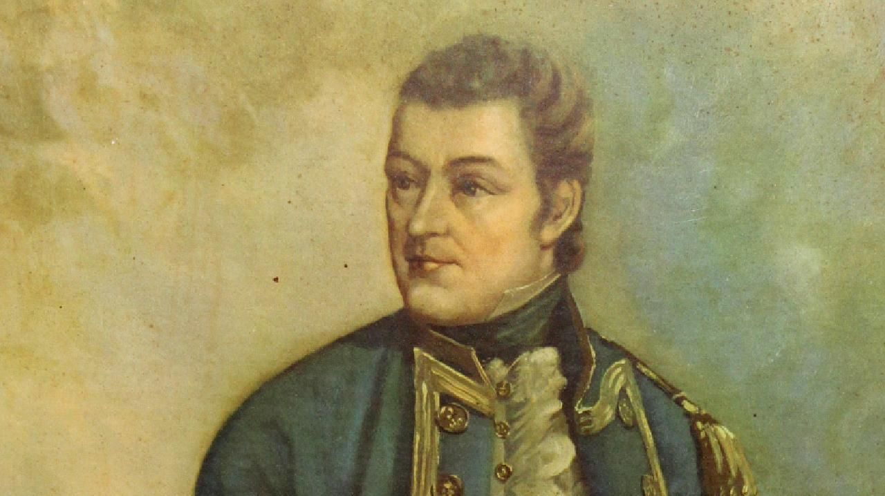 The remains of Matthew Flinders have been found at a London station.