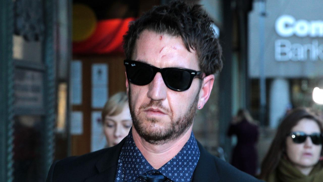 Ben Rimmer, above after testifying about Evie Amati's axe attack, has revealed his anger at the light sentence she got for trying to murder him. Picture: Ben Rushton.