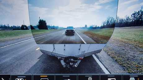 Transparent trailer tech allows drivers to have a clear rear view.