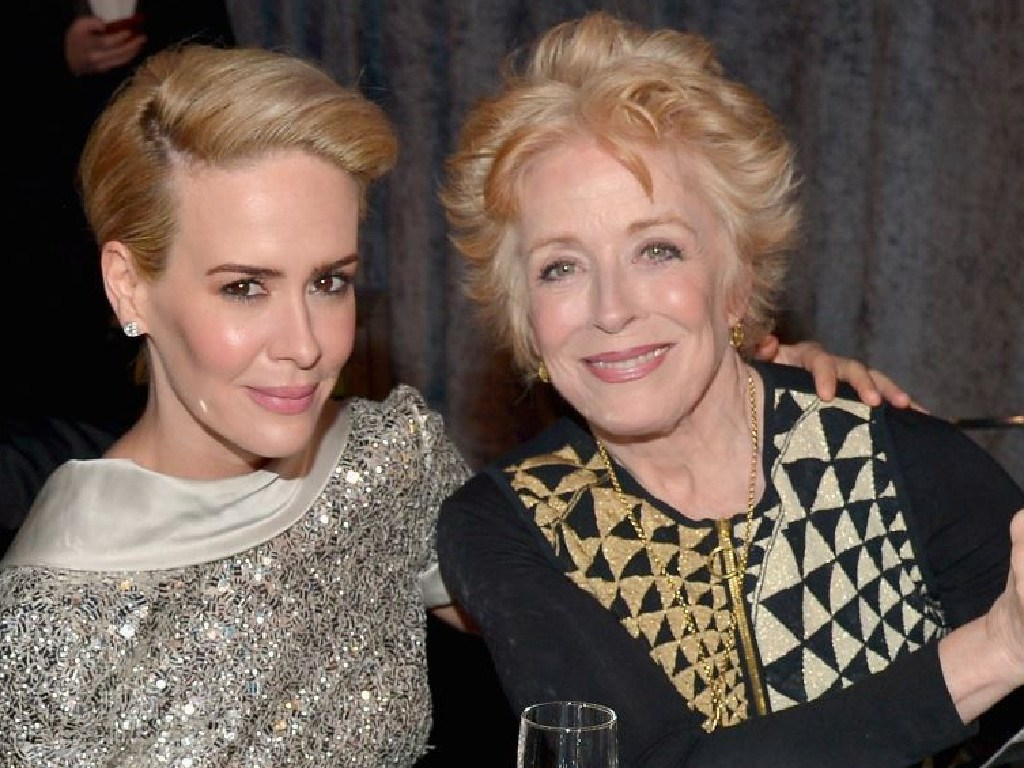 Sarah Paulson and Holland Taylor have both spoken out against criticism of their 32-year age gap. Picture: Supplied