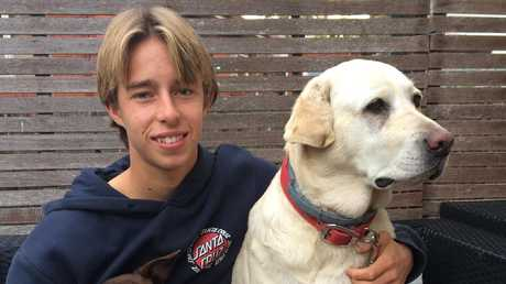 Police located missing teenager Brody Hurst's body this morning. Pictured: Supplied
