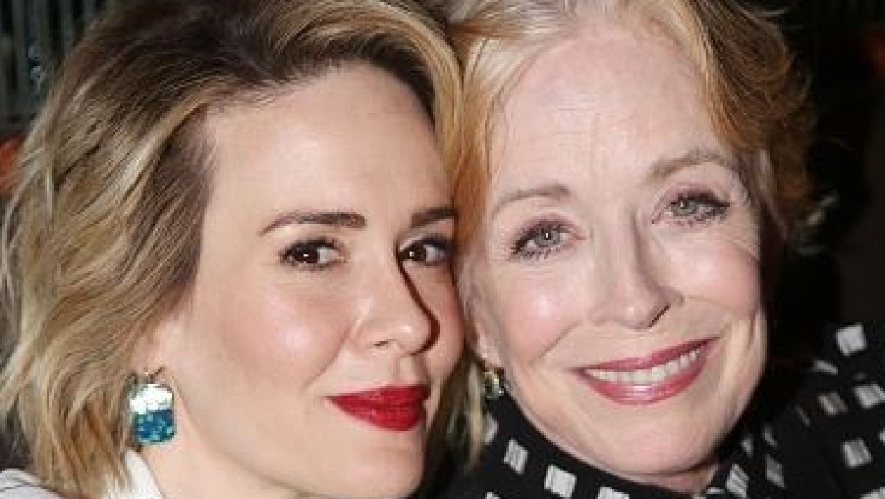 Sarah Paulson and Holland Taylor have been together for a number of years. Picture: Supplied
