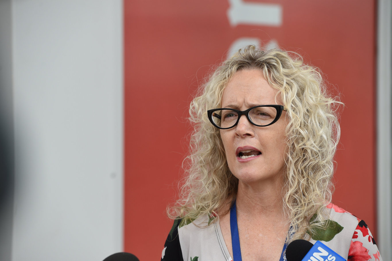 New emergency department at Hervey Bay Hospital - Peta Jamieson (Board Chair).