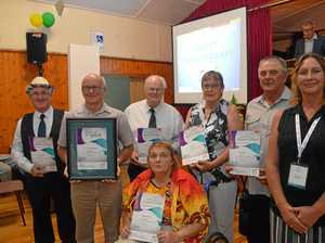 South Burnett volunteers recognised at Australia Day awards