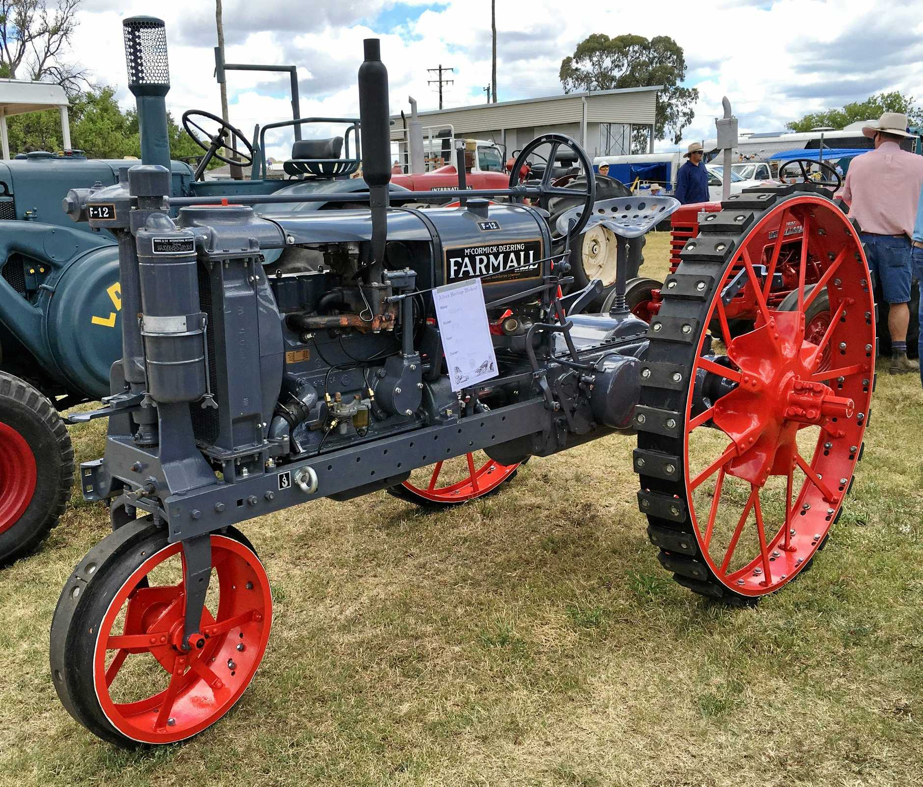 A magnificently restored 1933 Farmall F12 tractor is just one example of over 250 tractor exhibitions that will take place in the Heritage Weekend tractor parade.