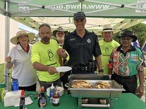 Pancake brekkie brings families together