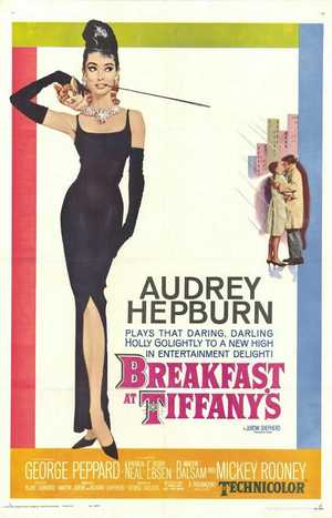 Audrey Hepburn. 'Breakfast at Tiffany's'. Romantic enough?