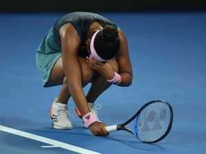 Australian Open final meltdown that shocked the world