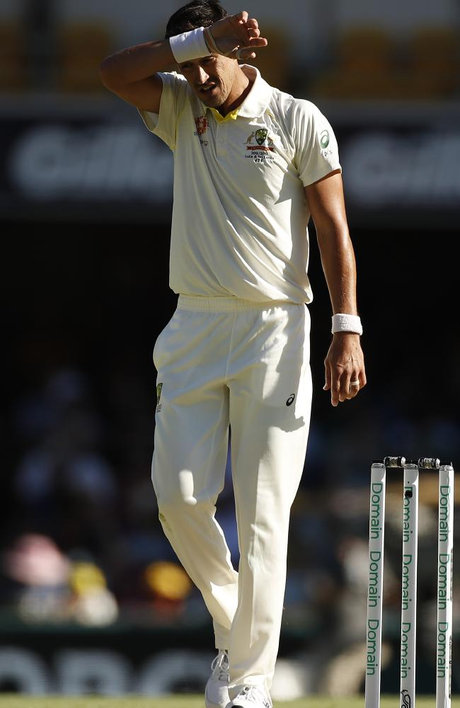 Mitch Starc didn't really fire at the Gabba.