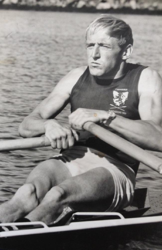 Reg Free is regarded as Tasmania's finest oarsman.