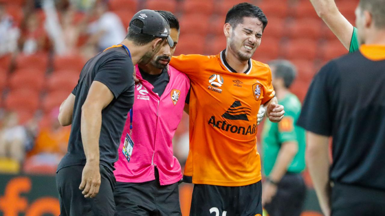 Connor O'Toole will miss the rest of the A-League season. Picture: AAP Images