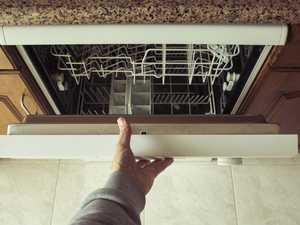 Bizarre dishwasher cookery hack