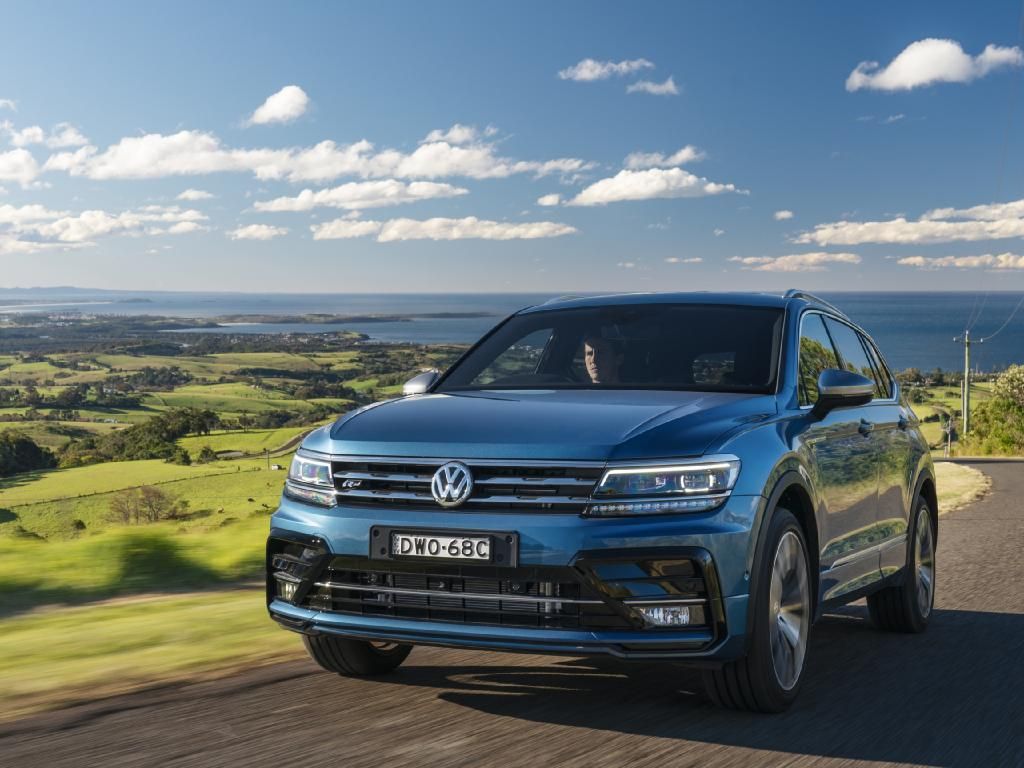 Photo of the 2018 Volkswagen Tiguan Allspace