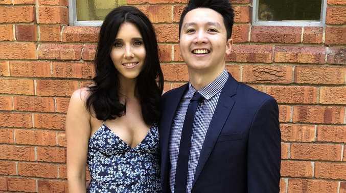 Emily McDonagh and boyfriend Sunny Wu love to travel.