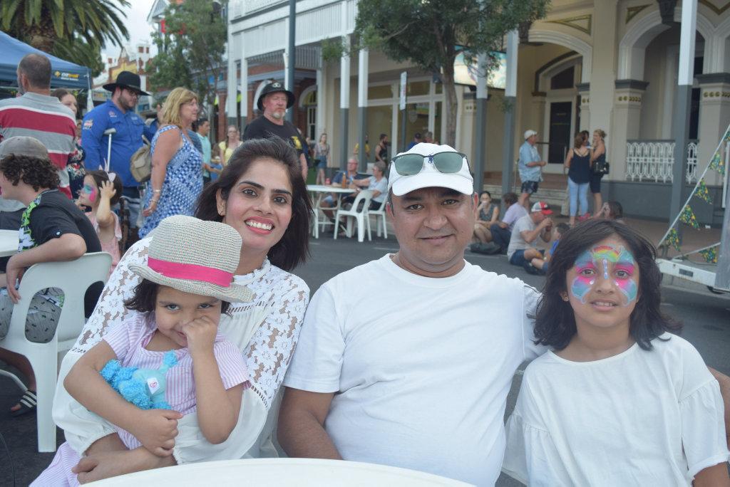 2019 Great Australian Bites in Warwick, Mallika Singh, Eva, Nishant