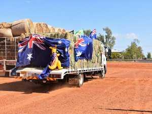 Truckies left speechless after fine threats