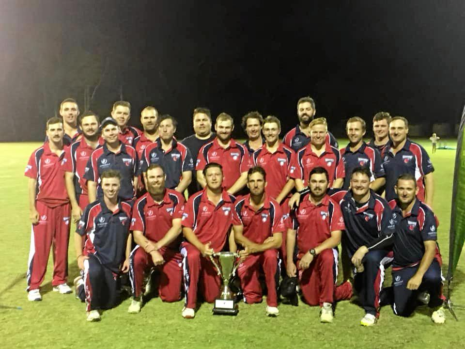 Northside and Southside teams at the Frenchville Sports Club Country Carnival on Saturday night.