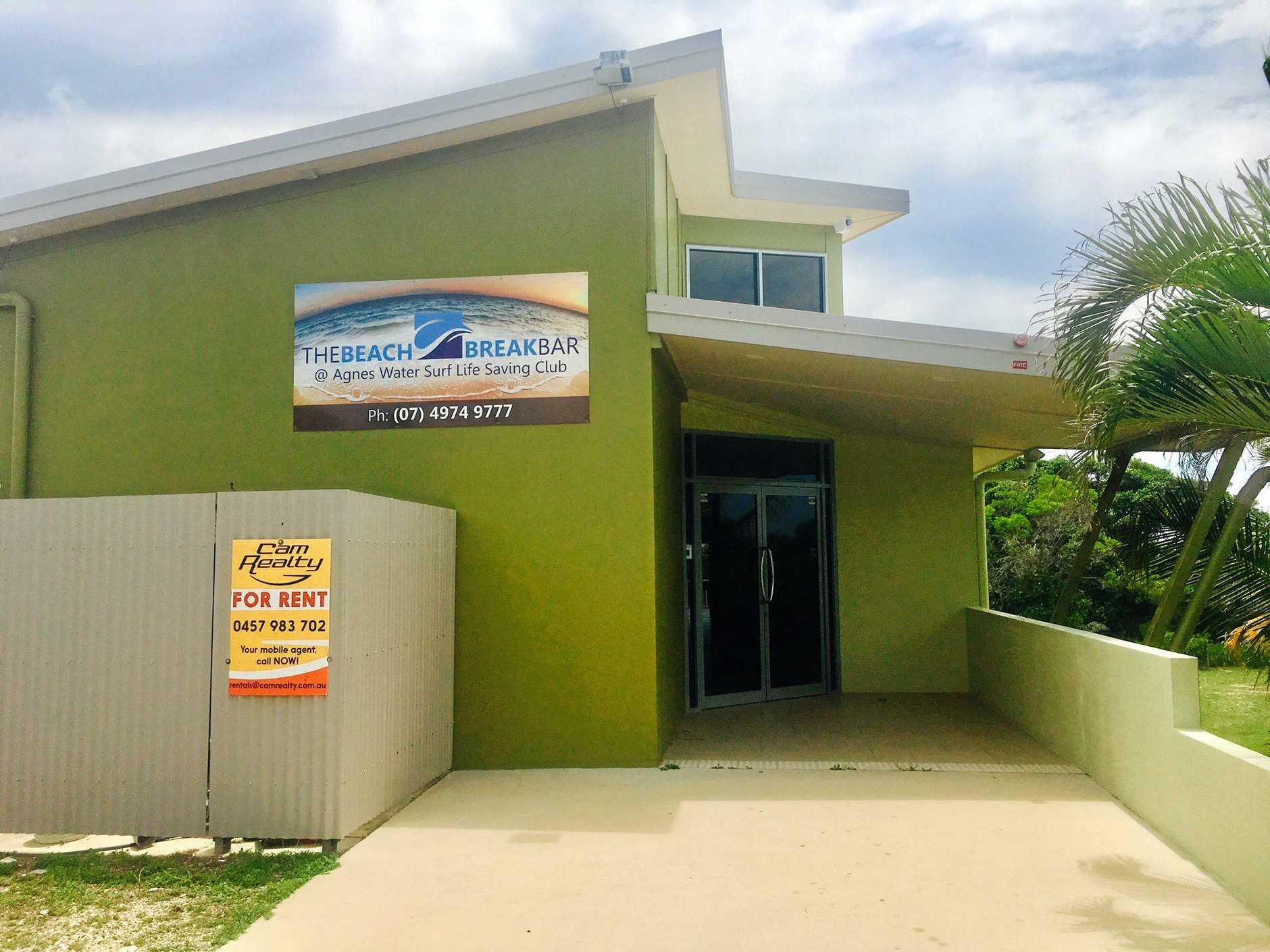 LOCATION: The Agnes Water Surf Club pictured in 2017. Goora Gan Steiner School will move into the top level in about six weeks.