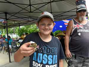 GALLERY: Day of toads, pies for Tiaro's Aussie celebrations