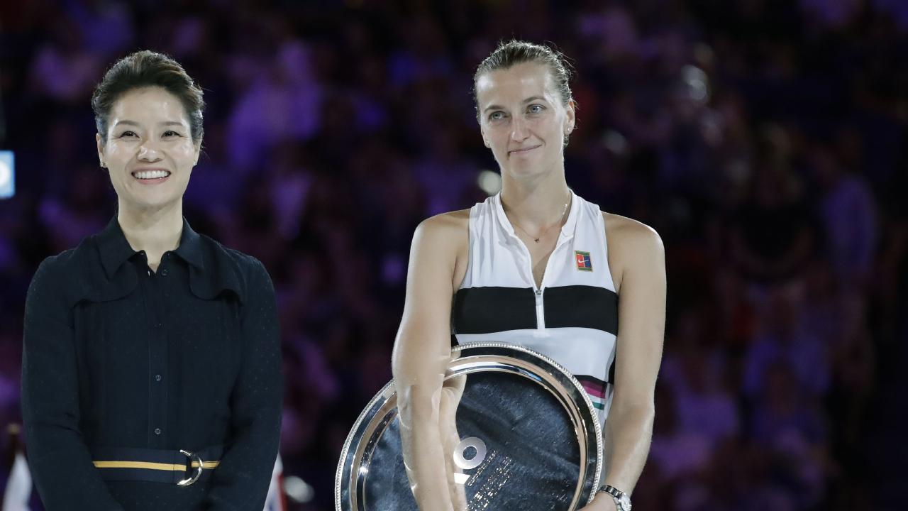 Petra Kvitova is a living legend.