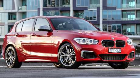 Rubie sees similar qualities to herself in the BMW M140i. Picture: Supplied