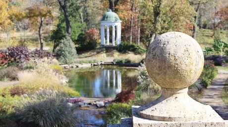 The garden at the Philbrook Museum of Art in Tulsa, Oklahoma. Picture: iStock