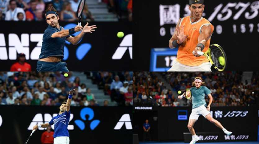 tennis, fed, rafa, novak, aus open