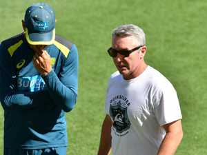 Paul Green in camp with Aussie cricketers
