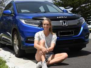 Aussie sprinter found her automotive soulmate