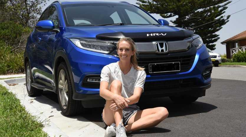 Anneliese Rubie and her Honda HR-V.